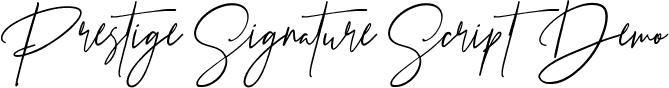 Prestige Signature Script  Demo