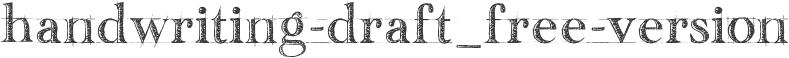 handwriting-draft_free-version
