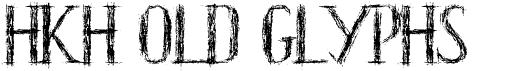 HKH Old Glyphs short